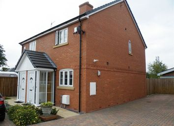 Thumbnail 2 bedroom semi-detached house to rent in Damson Drive, Nantwich
