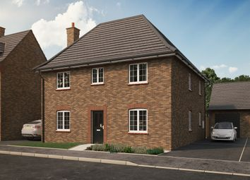 "Thumbnail 4 bed detached house for sale in ""The Wilstead "" at Park Crescent, Stewartby, Bedford"