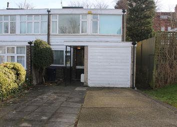 Thumbnail 4 bed end terrace house to rent in Ashbourne Close, Woodside Park