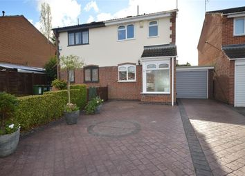 Thumbnail 2 bed semi-detached house for sale in Gilmorton Avenue, Glen Parva, Leicester