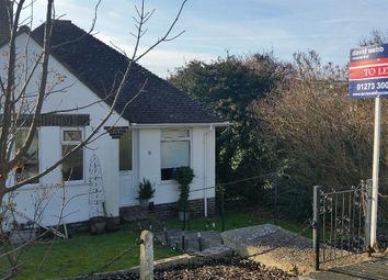 Thumbnail 2 bed detached bungalow to rent in Heathfield Avenue Saltdean, Brighton