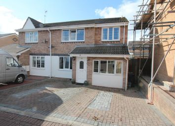 Thumbnail 3 bed semi-detached house for sale in Murlande Way, Rhoose, Barry