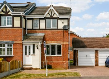 Thumbnail 2 bed semi-detached house for sale in Whisperwood Drive, Doncaster