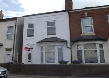 Thumbnail 3 bed terraced house to rent in Sycamore Road, Edgbaston, Birmingham