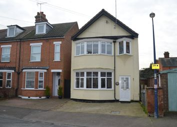Thumbnail 3 bed detached house for sale in Gainsborough Road, Felixstowe