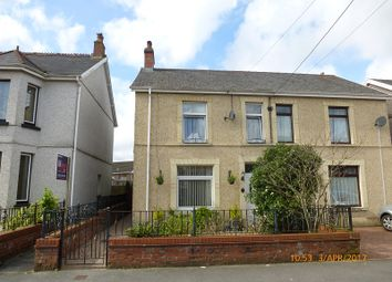 Thumbnail 3 bed semi-detached house for sale in Talbot Road, Ammanford, Carmarthenshire.