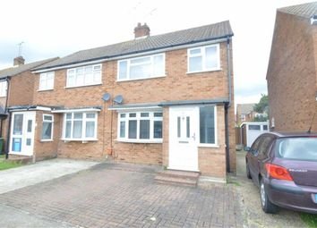 Thumbnail 3 bed semi-detached house to rent in Regan Close, Stanford Le Hope, Essex