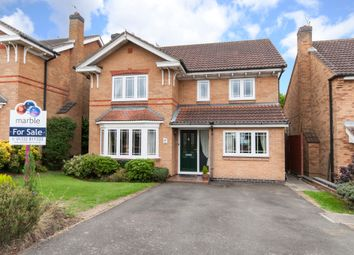 Thumbnail 4 bed detached house for sale in Fox Road, Castle Donington, Castle Donington, Derbyshire
