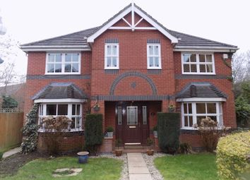 Thumbnail 5 bed detached house for sale in Capesthorne Drive, Swindon