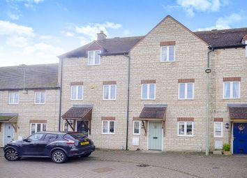 Thumbnail 3 bed terraced house for sale in Woodrush Gardens, Carterton