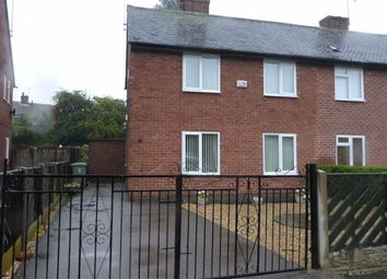 Thumbnail 2 bed semi-detached house to rent in Tapton Way, Calow, Chesterfield, Derbyshire