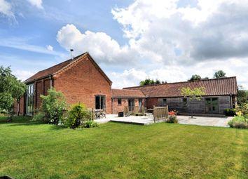 Thumbnail 4 bed barn conversion to rent in Heath Road, Hockering, Dereham