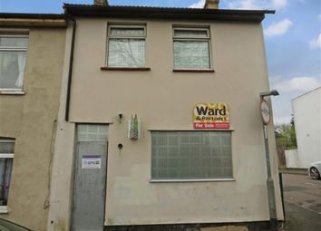 Thumbnail 3 bedroom end terrace house for sale in Chalkpit Hill, Chatham, Kent