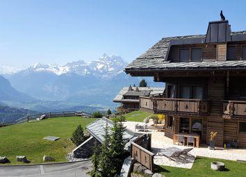 Thumbnail 4 bed duplex for sale in Mont Azur Residence - Chesières (Villars-Sur-Ollon), Vaud, Switzerland