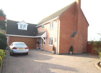Thumbnail 5 bedroom detached house for sale in Mays Farm Drive, Stoney Stanton, Leicester