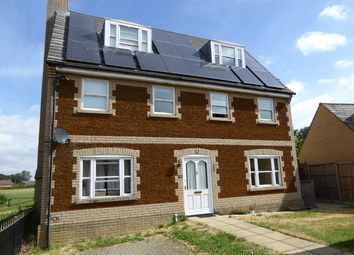 Thumbnail 5 bed detached house to rent in Short Drove, Downham Market