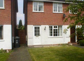 Thumbnail 2 bed semi-detached house to rent in Nash Avenue, Perton, Wolverhampton