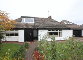 Thumbnail 4 bedroom detached bungalow for sale in Sandham Grove, Heswall, Wirral