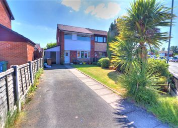 Thumbnail 3 bed semi-detached house for sale in Abingdon Drive, Platt Bridge, Wigan