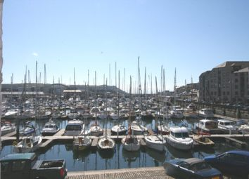 Thumbnail 2 bed flat to rent in Harbourside Court, Sutton Harbour, Plymouth