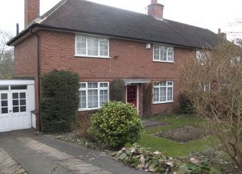 Thumbnail 3 bed semi-detached house to rent in Middle Park Road, Birmingham