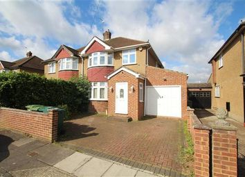 Thumbnail 4 bed semi-detached house for sale in Stanwell Gardens, Stanwell, Staines