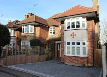 Thumbnail 4 bed semi-detached house for sale in Warwick Road, New Barnet, Barnet