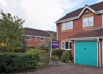 Thumbnail 3 bed semi-detached house for sale in Denston Close, Northampton
