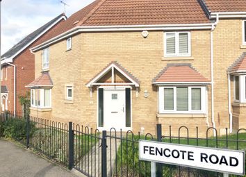 Thumbnail 3 bed detached house to rent in Fencote Road, Leicester