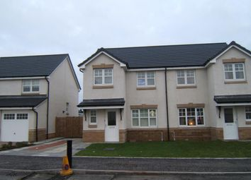 Thumbnail 3 bed semi-detached house to rent in Cruickshanks Court, Denny, Falkirk