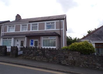 Thumbnail 3 bedroom semi-detached house for sale in Maes Cadnant, Caernarfon, Gwynedd