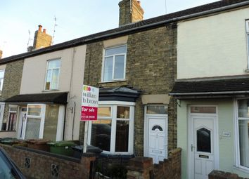 Thumbnail 3 bedroom terraced house for sale in High Street, Peterborough