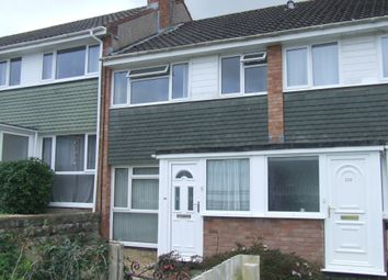 Thumbnail 3 bed terraced house to rent in Moreton Park Road, Bideford