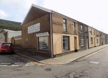 Thumbnail End terrace house for sale in Wyndham Street, Treherbert, Treorchy, Rhondda Cynon Taff.