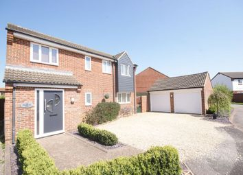 Thumbnail 4 bed detached house for sale in Chaffinch Way, Lee-On-The-Solent