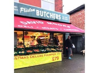 Thumbnail Retail premises for sale in Urmston M41, UK