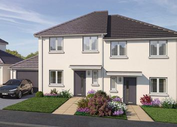 "Thumbnail 4 bed semi-detached house for sale in ""The Hawford"" at Vicarage Hill, Kingsteignton, Newton Abbot"