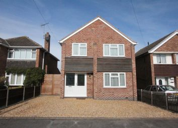 Thumbnail 3 bed detached house for sale in Frewen Drive, Sapcote, Leicester