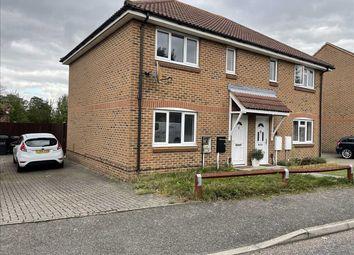 Thumbnail 3 bed semi-detached house to rent in Haldane Gardens, Northfleet, Gravesend