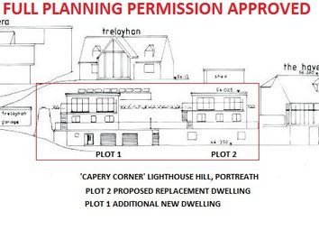 Thumbnail Commercial property for sale in Lighthouse Hill, Portreath, Redruth