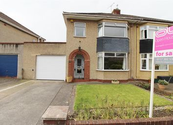 Thumbnail 3 bed semi-detached house for sale in Fouracre Crescent, Downend, Bristol