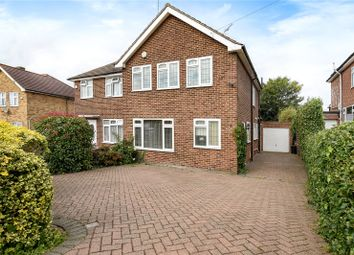 Thumbnail 3 bed semi-detached house for sale in Maylands Drive, Uxbridge, Middlesex