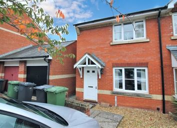 Thumbnail 2 bed end terrace house to rent in Etonhurst Close, Exeter