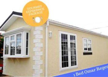 Thumbnail 1 bed mobile/park home for sale in Crouch Caravan Park, Pooles Lane, Hullbridge, Hockley