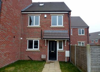 Thumbnail 4 bed terraced house to rent in Bridge Close, Sutton-In-Ashfield