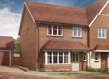 Thumbnail 3 bed semi-detached house for sale in Keymer Road, Burgess Hill, West Sussex