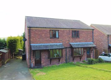 Thumbnail 2 bedroom semi-detached house for sale in 23, Chestnut Drive, Middletown, Welshpool