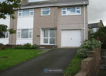 Thumbnail 4 bedroom semi-detached house to rent in Dinas, Caernarfon