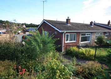 Thumbnail 2 bedroom semi-detached bungalow for sale in Newchapel Road, Kidsgrove, Stoke-On-Trent