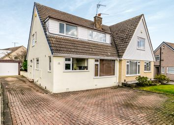 Thumbnail 3 bed semi-detached house for sale in Popples Drive, Illingworth, Halifax